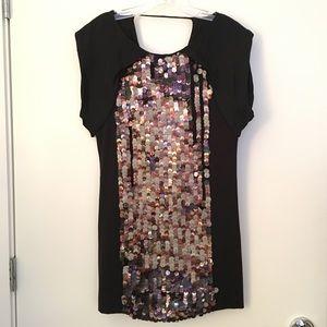 Tibi Mini Sequin Dress